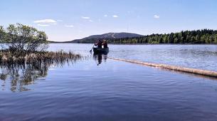 Kayaking-Pyha-Canoeing on the Pyhäjoki River in Pyha-2