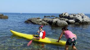 Kayak de mer-Taormine-Sea Kayaking Tour of Isola Bella in Taormina-2