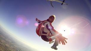 Parachutisme-Dijon-Saut en parachute tandem depuis un hélicoptère à Chalon-sur-Saône, Bourgogne-3