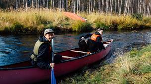 Kayaking-Pyha-Canoeing on the Pyhäjoki River in Pyha-1