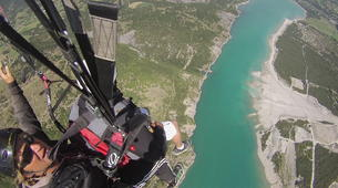 Paragliding-Lake Serre Ponçon-Introduction to paragliding at Lac de Serre-Ponçon, France-3
