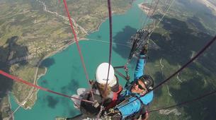 Paragliding-Lake Serre Ponçon-Introduction to paragliding at Lac de Serre-Ponçon, France-2