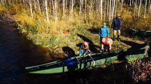 Kayaking-Pyha-Canoeing on the Pyhäjoki River in Pyha-5