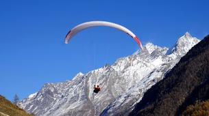 Paragliding-Brig-Glis-Summer Tandem Paragliding in Brig-Glis-2