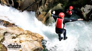 Canyoning-Konjic-Canyoning at the Rakitnica Canyon, Bosnia and Herzegovina-1