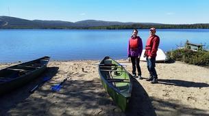 Kayaking-Pyha-Canoeing on the Pyhäjoki River in Pyha-4