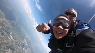 Fallschirmspringen-Maribor-Tandem skydiving in Maribor, Slovenia-4