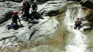 Canyoning-Serre Chevalier-Canyon de Caprie (Italie) au depart de Briançon, Serre Chevalier-3