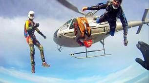 Parachutisme-Dijon-Saut en parachute tandem depuis un hélicoptère à Chalon-sur-Saône, Bourgogne-4