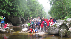 Canyoning-Black Forest-Canyoning tour with tree tent Overnight in the Black Forest-6