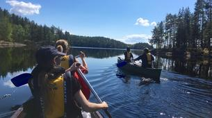 Kayaking-Linnansaari National Park-Canoe Tour in Linnansaari National Park-1