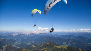 Paragliding-Salzburg-Classic tandem paragliding flight from Bischling, Werfenweng-2