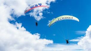 Paragliding-Brig-Glis-Summer Tandem Paragliding in Brig-Glis-3