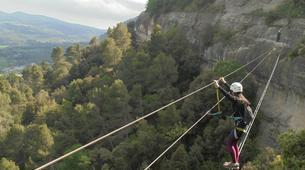 Via Ferrata-Centelles-Via ferrata in 'Les Baumes Corcades' near Barcelona-4