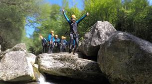 Canyoning-Alta Garrotxa-Canyon Familial à Sant Privat d'en Bas dans la Garrotxa-4