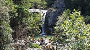 Hiking / Trekking-Mount Olympus-Hike and dive in Orlias Waterfalls, Mount Olympus-4