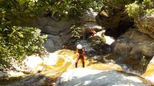 Canyoning-Sierra de las Nieves Natural Park-Canyoning at Zarzalones Gorge in Sierra de las Nieves Natural Park-2