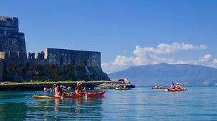 Sea Kayaking-Epidaurus-Sea Kayaking excursion to the sunken city of Epidaurus-1