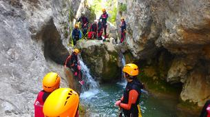 Canyoning-Prades (Spain)-Canyoning at Gorges du Llech in the French Pyrenees-2