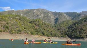 Kayaking-Marbella-Lake kayak tour in Istan, in the northwest of Marbella-2