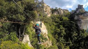 Via Ferrata-Province of Tarragona-Via ferrata in Serra de Montsant Natural Park, in Tarragona, Spain-1