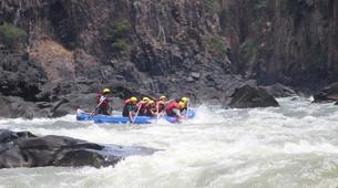 Rafting-Livingstone-White Water Rafting on the Zambezi River with locals-3
