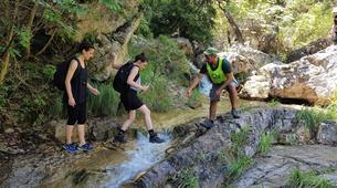 Hiking / Trekking-Mount Olympus-Hike and dive in Orlias Waterfalls, Mount Olympus-5