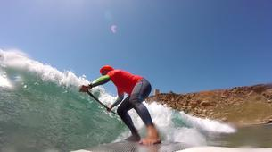 Stand up Paddle-Malta-SUP lessons on waves in Malta-1