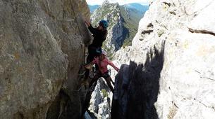 Canyoning-Pyrénées Orientales-Via Ferrata de St Paul de Fenouillet et Canyon de Galamus-2