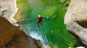 Canyoning-Prades (Spain)-Canyoning at Gorges du Llech in the French Pyrenees-5
