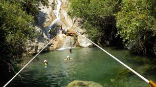 Canyoning-Sierra de las Nieves Natural Park-Canyoning at Zarzalones Gorge in Sierra de las Nieves Natural Park-7