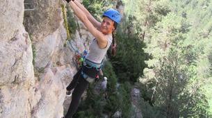 Via Ferrata-Barcelona-Via Ferrata Excursion at Baumes Corcades in Centelles near Barcelona-1