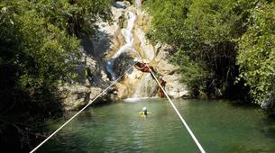 Canyoning-Sierra de las Nieves Natural Park-Canyoning at Zarzalones Gorge in Sierra de las Nieves Natural Park-1