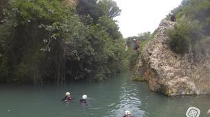 Canyoning-Alicante-Canyoning at Gorgo de la Escalera in Alicante-1