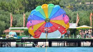Parasailing-Corfu-Parasailing flight in Dassia beach, Corfu-3