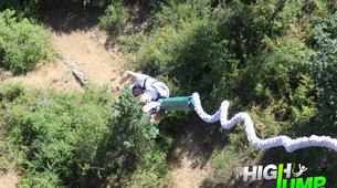 Bungee Jumping-Madrid-Puenting from Buitrago Bridge near Madrid-4