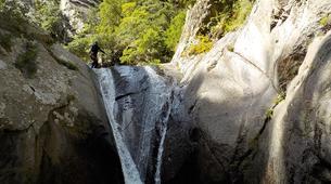 Canyoning-Pyrénées Orientales-Via Ferrata de St Paul de Fenouillet et Canyon de Galamus-9