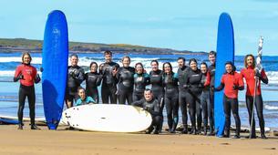 Surfing-Sligo-Beginner Surfing Lessons in Strandhill, Sligo-6