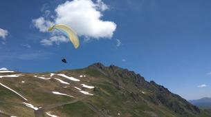 Paragliding-Barèges-Paragliding flight in Barèges-1