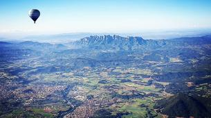 Hot Air Ballooning-Barcelona-Hot air balloon flights near Montserrat from Barcelona-3