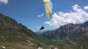 Paragliding-Barèges-Paragliding flight in Barèges-2
