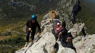 Canyoning-Pyrénées Orientales-Via Ferrata de St Paul de Fenouillet et Canyon de Galamus-1