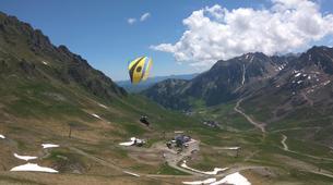 Paragliding-Barèges-Paragliding flight in Barèges-3