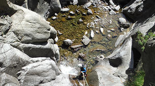 Canyoning-Vall de Ribes-Intermediate canyon in the Valle de Núria-3