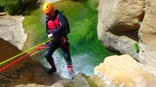 Canyoning-Prades (Spain)-Canyoning at Gorges du Llech in the French Pyrenees-4