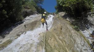 Canyoning-Sierra de las Nieves Natural Park-Canyoning at Zarzalones Gorge in Sierra de las Nieves Natural Park-5