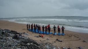 Surfing-Sligo-Beginner Surfing Lessons in Strandhill, Sligo-1