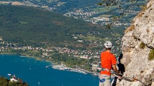 Via Ferrata-Lake Bourget, Aix les Bains-Via Ferrata Roc du Cornillon near Lac du Bourget-2
