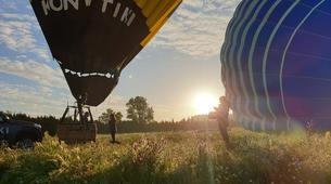 Hot Air Ballooning-Barcelona-Hot air balloon flights near Montserrat from Barcelona-1