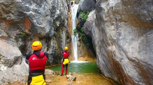 Canyoning-Prades (Spain)-Canyoning at Gorges du Llech in the French Pyrenees-1